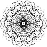 Black&White花 库存图片