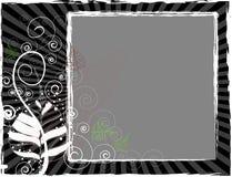 Black and white royalty free illustration