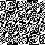 Black and White Abstract Background. A black and white retro abstract background Royalty Free Stock Photos