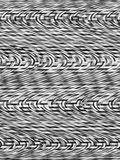 Black-and-white abstract background. Abstract pattern with whirl movement Stock Image
