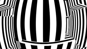 Black and white abstract background. Seamless loop stock footage