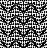 Black and white abstract background. Royalty Free Stock Photo