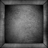 Black and white abstract background in frame Royalty Free Stock Images
