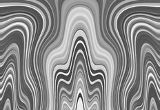 Black and white abstract background - an illustration of wavy lines. Pattern vector illustration