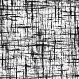 Black and white abstract background with intersecting grunge stripes Royalty Free Stock Image