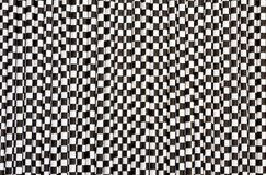 Black and white abstract. Black and white background abstract made with paper straws Stock Photography