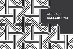 Black and white abstract background Royalty Free Stock Images