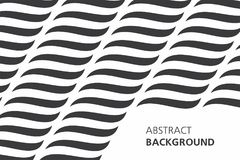 Black and white abstract background Royalty Free Stock Photography