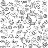 Black and white abstract background. Black and white abstract background, tea Stock Image