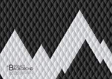 Black and white abstract background vector illustration, cover template layout, business flyer, Leather texture luxury. Can be used in annual report cover royalty free illustration
