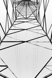 Black and white abstract composition Royalty Free Stock Images