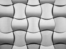 Black and white abstract decorative background Stock Photo