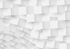Black and white abstract geometric background for design. Template Royalty Free Stock Photography