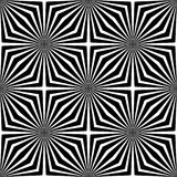 Black and White Abstract Geometric Background Royalty Free Stock Images