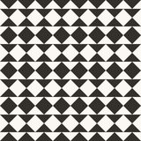 Black and white abstract geometric quilt pattern. Simple minimal graphic backgorund. vector illustration