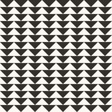 Black and white abstract geometric quilt pattern. Simple minimal graphic backgorund. royalty free illustration
