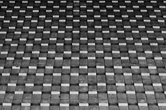 Black and white abstract geometrical pattern Stock Image