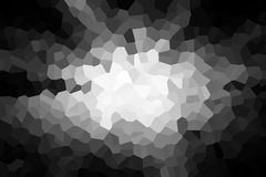 Black and white abstract graphic background Stock Image