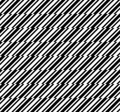 Black and white abstract herringbone geometric seamless pattern, vector Royalty Free Stock Images