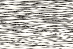 Black and white Abstract horizontal striped pattern. Vector Stock Photography