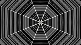 Black white abstract kaleidoscope. 3d rendering. Black white abstract kaleidoscope background. 3d rendering stock video footage