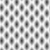 Black and White Abstract Line Pattern, vector Royalty Free Stock Images
