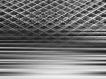 Black and white abstract lined 3d illustration background royalty free stock photo