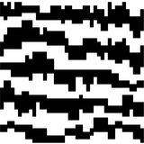 Black and white - abstract pattern. Abstract pattern with black and white stock illustration