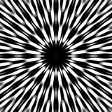 Black and White Abstract Pattern stock illustration
