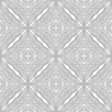 Black and white abstract pattern for colouring pages. Vector illustration Stock Photo