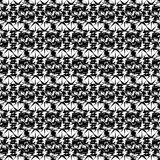 Black on white abstract pattern Stock Photo
