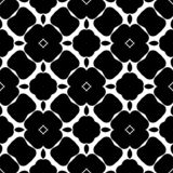 Black and white abstract, seamless bold flowery design. Geometrical flowery bold abstract symmetrical design, can be used for laser cutting, fabrics, carpets vector illustration