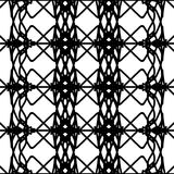 Black and white abstract seamless pattern.  stock illustration
