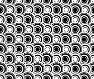 Black and white abstract seamless pattern Stock Images