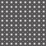 Black and white abstract seamless pattern Royalty Free Stock Image