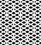 Black and white abstract textured geometric seamless pattern. Sy. Mmetric monochrome  textile backdrop. Splicing lines Stock Image