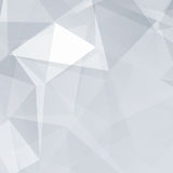 Black and White Abstract Triangles Vector Background Royalty Free Stock Photo