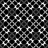 Black and White Abstract vector art ,geomatric flowery design, seamless pattern. Geometrical flowery abstract symmetrical design, can be used for laser cutting royalty free illustration