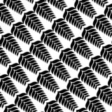 Black and white abstract vector background and seamless repeat pattern design Royalty Free Stock Photo