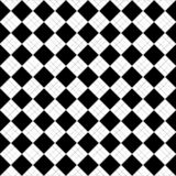 Black and white abstract vector background and seamless repeat pattern design Royalty Free Stock Photos