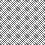 Black and white abstract vector background and seamless repeat pattern design Stock Photography