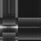 Black and white aluminum surface. Metallic abstract abstract texture background. Black and white aluminum surface. Metallic geometric abstract texture background stock illustration
