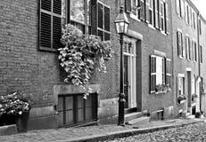 Black and white americaina Royalty Free Stock Images