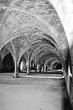 Black and White Arches Royalty Free Stock Photos