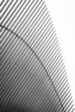 Black & white architectural details of the Oculus, in Manhattan, New York City stock images