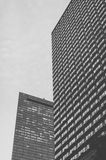 Black and white architecture in Boston Stock Photos