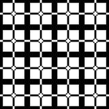Black and white art deco pattern stock illustration