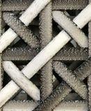 Black white art weave Stock Image