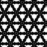 Black and White Asbtract Pattern. An abstract illustrated pattern done in black and white. It is reminiscent of 19th century wallpaper patterns and Victorian vector illustration