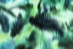 Black white azure green smudge blurred feathers like Royalty Free Stock Photo